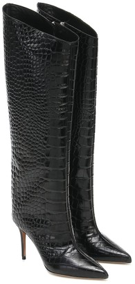 Alexandre Vauthier Alex knee-high leather boots