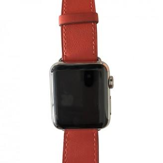 Hermã ̈S HermAs Apple Watch x HermAs 38mm Orange Steel Watches