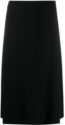 Aspesi High-Waist Buttoned Skirt