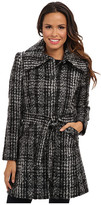 DKNY Novelty Tweed Trench 49212X-Y4