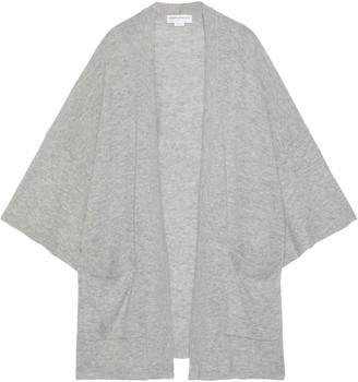 Amanda Wakeley Melange Cashmere And Wool-blend Cardigan