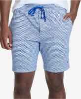 Nautica Men's Geometric-Print Pajama Shorts