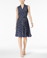 Charter Club Petite Pineapple Print Shirtdress, Created for Macy's