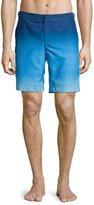 Orelebar Brown Dane Ombre Swim Trunks, Light Blue