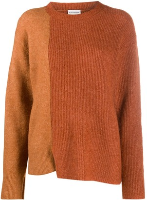 By Malene Birger Long-Sleeve Block Colour Knitted Jumper