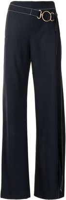 Monse Vented Wide Leg Trousers