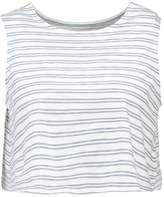 NATIVE YOUTH AURORA Vest grey/white