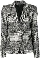 Balmain tweed blazer - women - Cotton/Acrylic/Viscose/Virgin Wool - 40