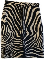 Laurèl Black Wool Skirt for Women