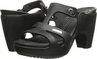 Crocs Women's Cyprus V Heel W Dress Sandal