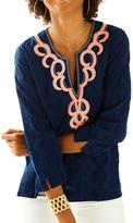 Lilly Pulitzer Amelia Island Embroidered Tunic