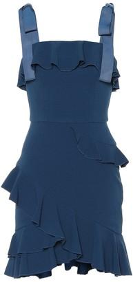 Rebecca Vallance Aegean crepe minidress
