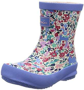 Joules Baby Girls Welly Boots, Pink (Kitty Ditsy), 4 UK 21 EU