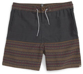 Volcom &Divide& Geo Stripe Shorts (Big Boys)