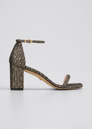 Stuart Weitzman Amelina 75mm Ankle-Strap Sandals