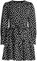 Kate Spade Cloud Dot Sash Dress