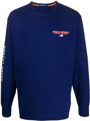 Polo Ralph Lauren logo long-sleeve T-shirt