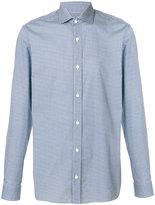 Z Zegna patterned shirt