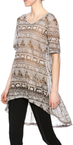 Camille and Co High Low Tunic