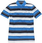 Tommy Hilfiger Mens Striped Interlock Polo