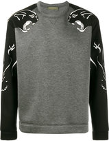 Valentino panther print sweatshirt - men - Cotton/Polyurethane/Viscose - S