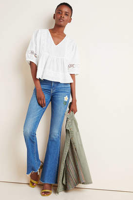 Mother The Weekender High-Rise Bootcut Jeans