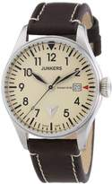 Junkers Men's watch XL Analogue Quartz Leather 6144 5