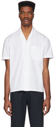 eidos White Camp Collar Shirt