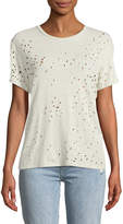IRO Sija Distressed Linen Top