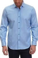 Robert Graham Men's Brennen Tailored Fit Check Sport Shirt