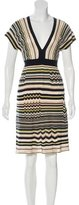 M Missoni Striped A-line Dress