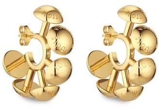 Louis Vuitton Studdy Hoop Earrings MM