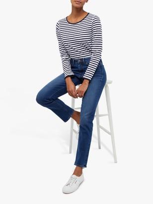 White Stuff Straight Jeans, Blue Denim
