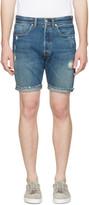 Levi's Indigo Denim 501 CT Shorts