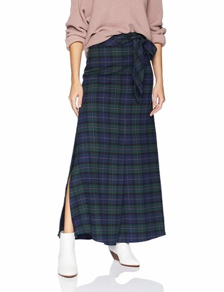 Armani Exchange A|X Women's Belted Maxi Skirt