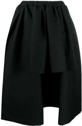 Comme des Garçons Comme des Garçons Asymmetric Pleated Skirt