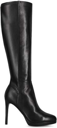 Nine West Quizme Leather Tall Boots