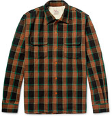 Levi's Deluxe Checked Wool-Blend Overshirt
