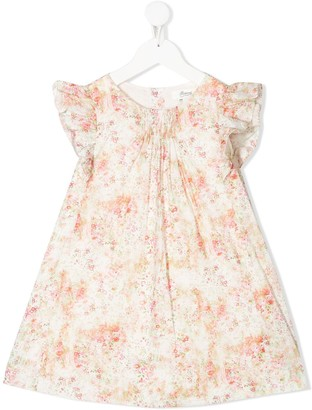 Bonpoint Floral-Print Dress