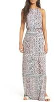 Lush Women's High Neck Maxi Dress