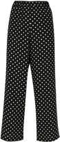 Aspesi polka dots cropped trousers