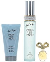 Elizabeth Taylor Gift Set White Diamonds Sparkling By