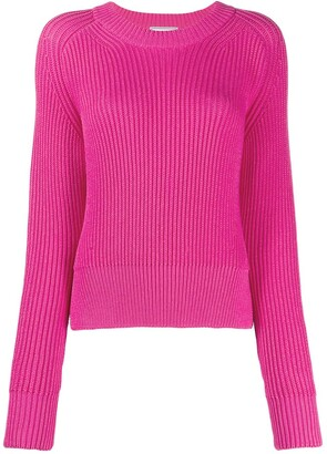 Ami Paris Crew-Neck Knitted Jumper