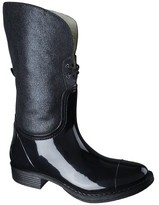 Merona Women's Zajac Rain Boot - Black