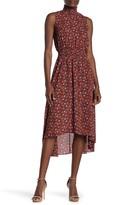 Nanette Lepore Nanette Sleeveless High/Low Midi Dress