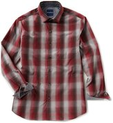 Tommy Bahama Azilal Ombre Plaid Long-Sleeve Woven Shirt