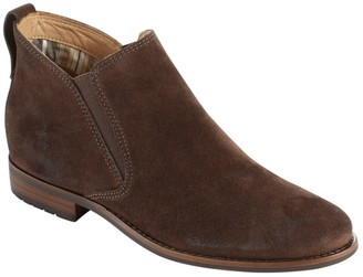 L.L. Bean Women's Westport Ankle Boots, Oiled Suede