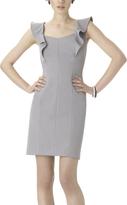Shape Fx Steel Ava Flutter-Sleeve Dress