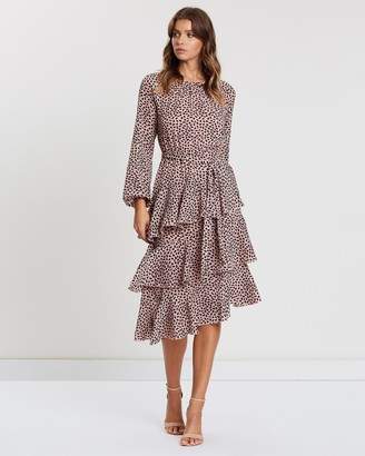 Atmos & Here Charlise Long Sleeve Dress