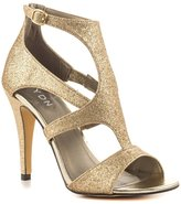 YDN Women Peep Toe High Heel Sandals Glitter Stilettos Pumps with Ankle Buckle Size 13
